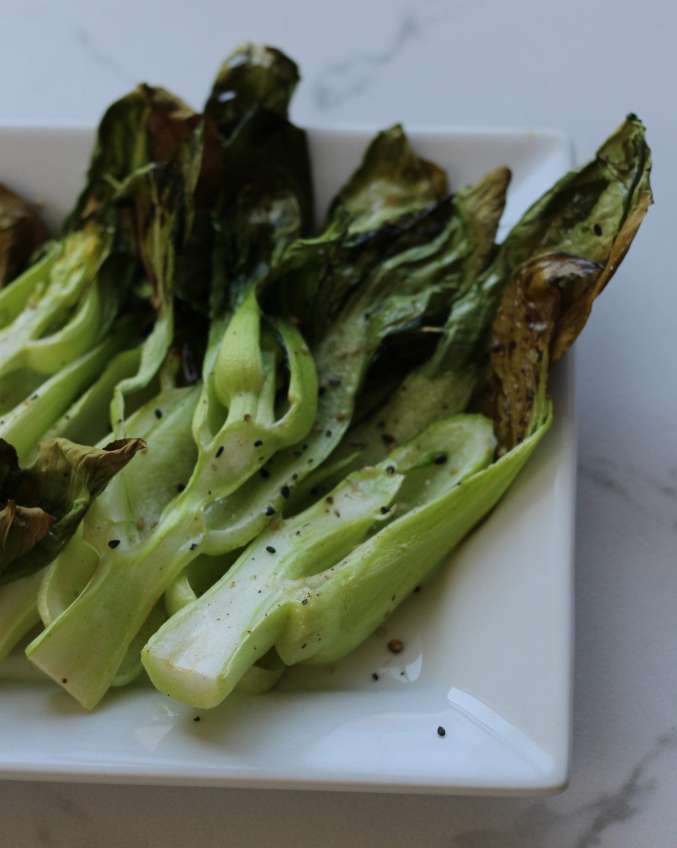Salt & Pepper Roasted Bok Choy