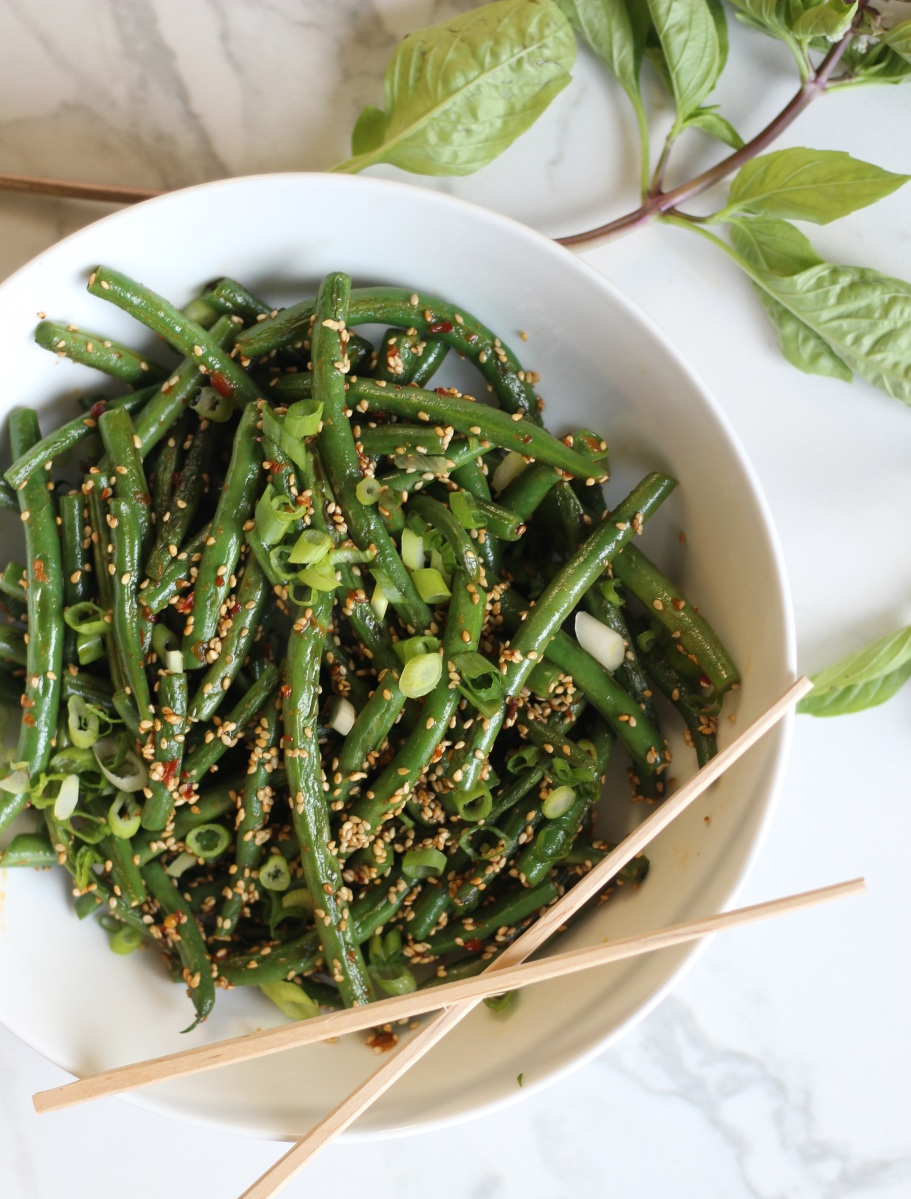 Quick & Easy Sesame Green Beans